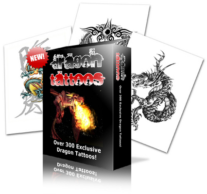 Product picture Dragon Tattoos - *Brand New!*